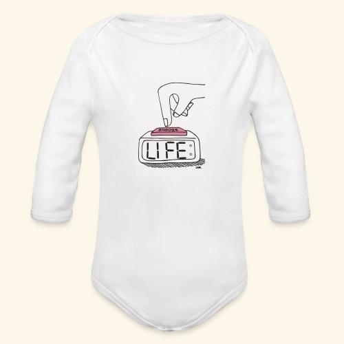 Mood - Organic Long Sleeve Baby Bodysuit