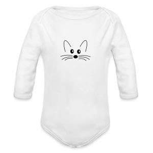 SQLogoTShirt-front - Long Sleeve Baby Bodysuit