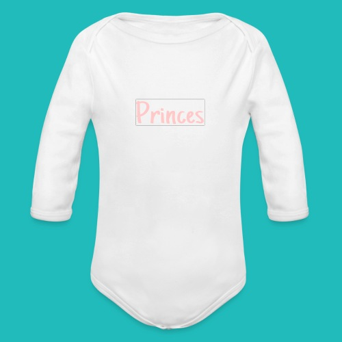 Princes!!! - Organic Long Sleeve Baby Bodysuit