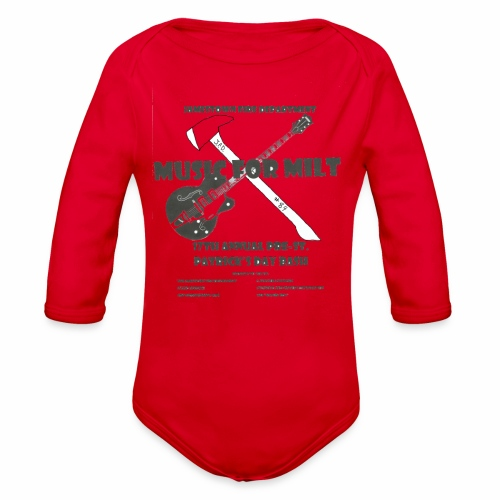 2018 Pre-St. Patricks Day Bash - Organic Long Sleeve Baby Bodysuit