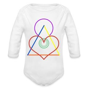 Angel - Long Sleeve Baby Bodysuit