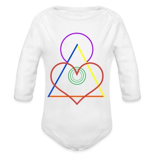 Angel - Organic Long Sleeve Baby Bodysuit