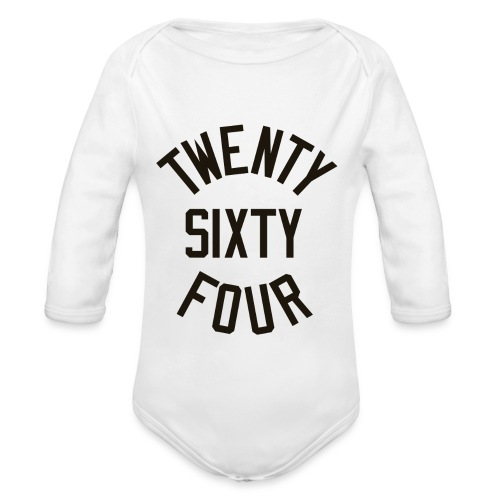 Twenty Sixty Four - Organic Long Sleeve Baby Bodysuit