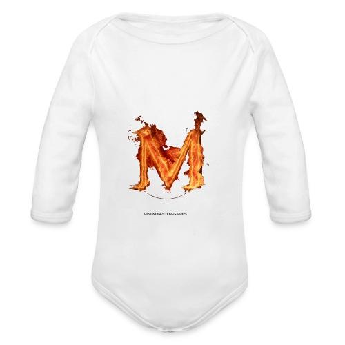 great logo - Organic Long Sleeve Baby Bodysuit