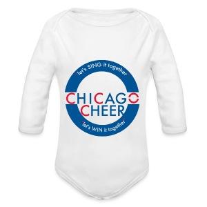 CHICAGO CHEER.com - Long Sleeve Baby Bodysuit