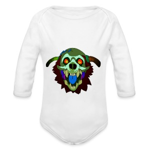 Dr. Mindskull - Long Sleeve Baby Bodysuit