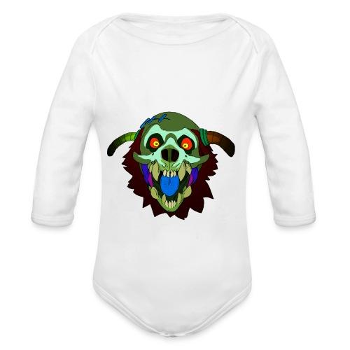 Dr. Mindskull - Organic Long Sleeve Baby Bodysuit
