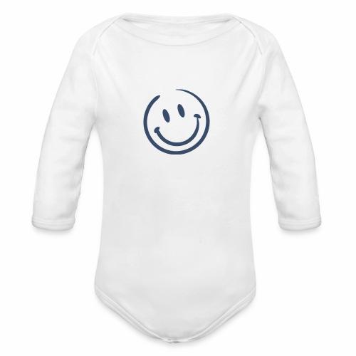 Joyful happy Baby - Organic Long Sleeve Baby Bodysuit