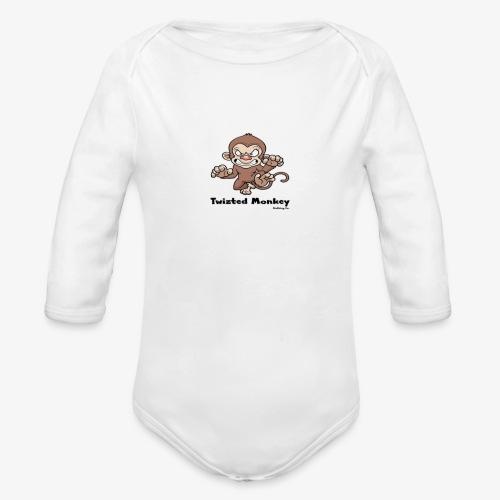 Twizted Monkey Clothing Co. - Organic Long Sleeve Baby Bodysuit