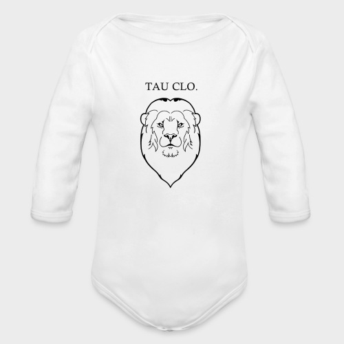 T.C LION - Organic Long Sleeve Baby Bodysuit