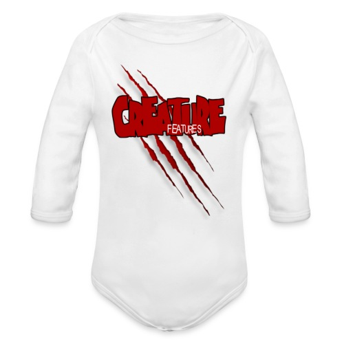 Creature Features Slash T - Organic Long Sleeve Baby Bodysuit