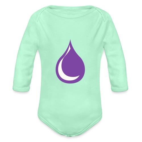 drop - Organic Long Sleeve Baby Bodysuit