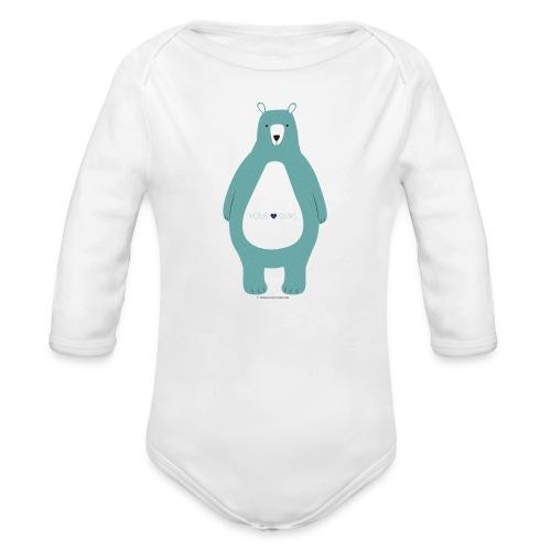 Yous Guys! - Organic Long Sleeve Baby Bodysuit