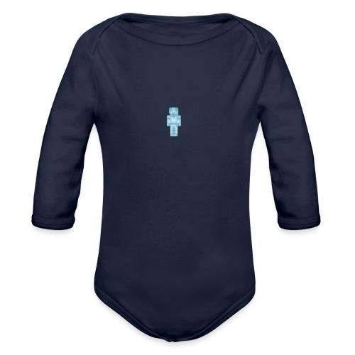 Diamond Steve - Organic Long Sleeve Baby Bodysuit