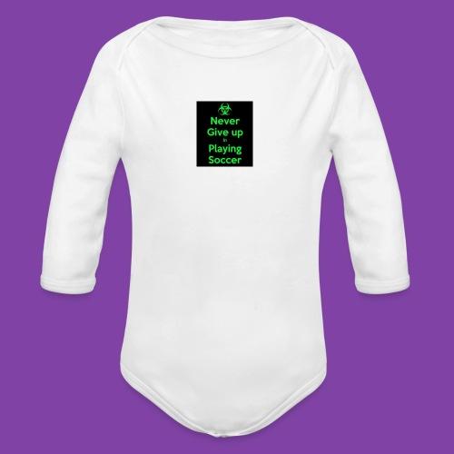 thA573TVA2 - Organic Long Sleeve Baby Bodysuit