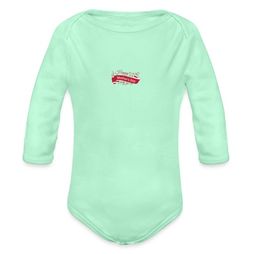 mother - Organic Long Sleeve Baby Bodysuit