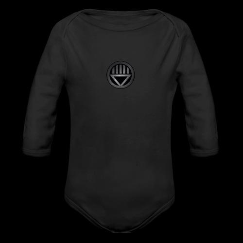 Knight654 Logo - Organic Long Sleeve Baby Bodysuit