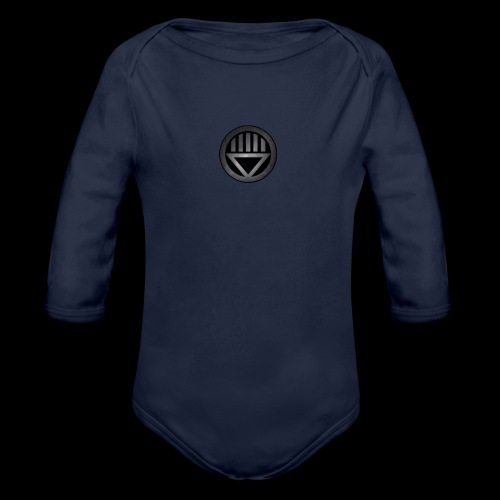 Knight654 Logo - Organic Long Sleeve Baby Bodysuit