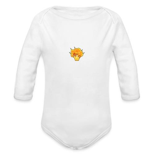 Boom Baby - Organic Long Sleeve Baby Bodysuit