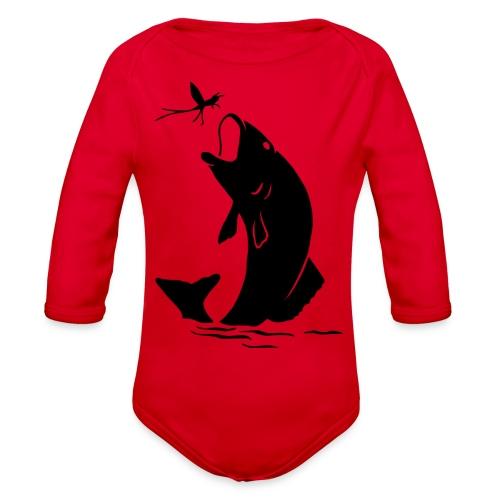 fishermen - Organic Long Sleeve Baby Bodysuit