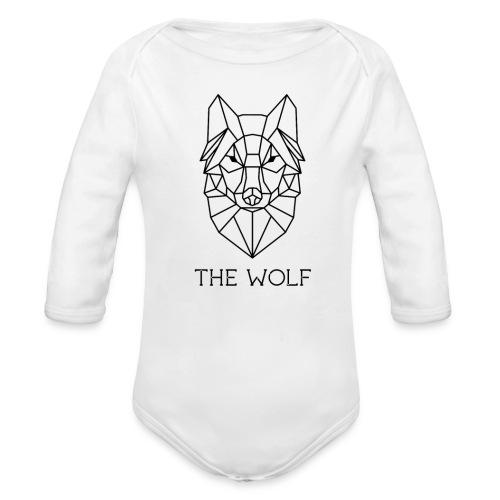 The Wolf - Organic Long Sleeve Baby Bodysuit
