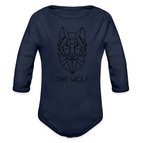 The Wolf - Organic Long Sleeve Baby Bodysuit