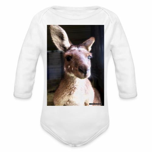 Kangaroo - Organic Long Sleeve Baby Bodysuit