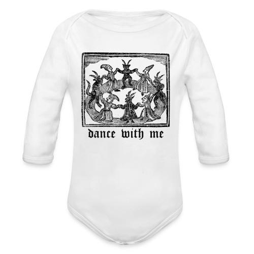 Dance With Me - Organic Long Sleeve Baby Bodysuit