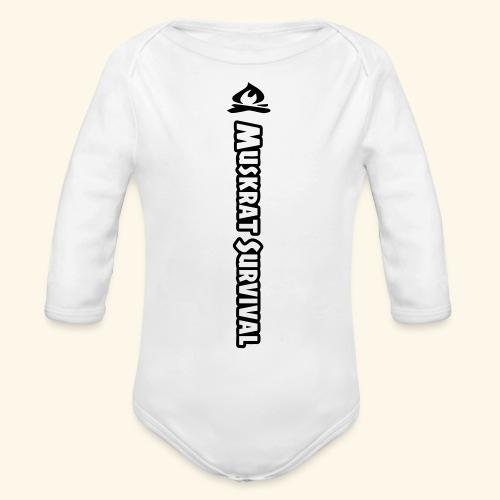 Muskrat Survival Tall - Organic Long Sleeve Baby Bodysuit