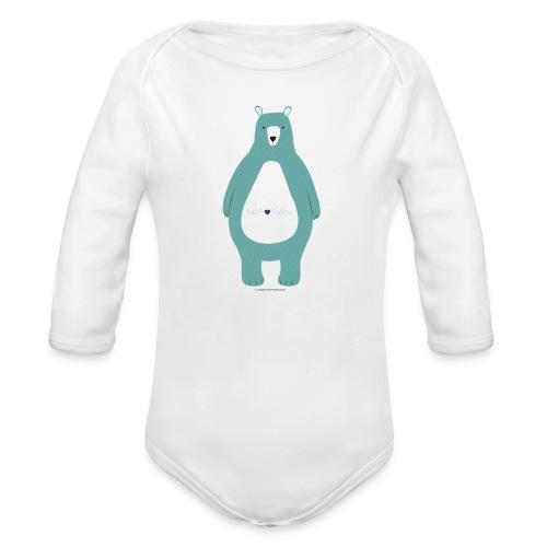 Not Even! - Organic Long Sleeve Baby Bodysuit
