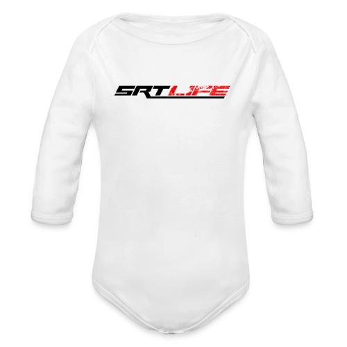 srt2black - Organic Long Sleeve Baby Bodysuit