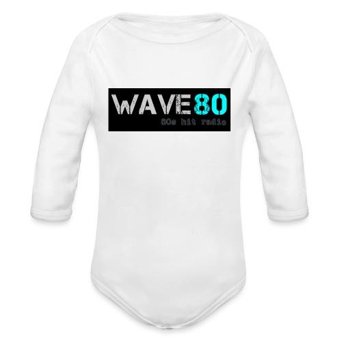 Main Logo - Organic Long Sleeve Baby Bodysuit