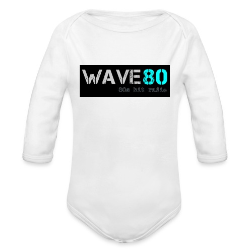 Main Logo - Organic Long Sleeve Baby Bodysuit