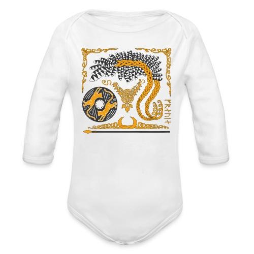 Freya's Tears - Organic Long Sleeve Baby Bodysuit