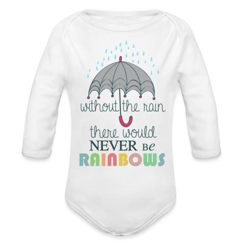 Without the Rain - Organic Long Sleeve Baby Bodysuit