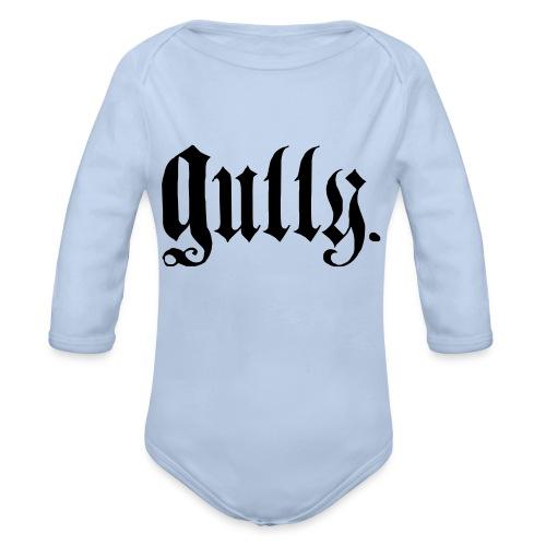MB Gully - Organic Long Sleeve Baby Bodysuit