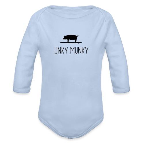 Surf Hog - Organic Long Sleeve Baby Bodysuit