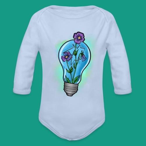 Creative Growth - Organic Long Sleeve Baby Bodysuit