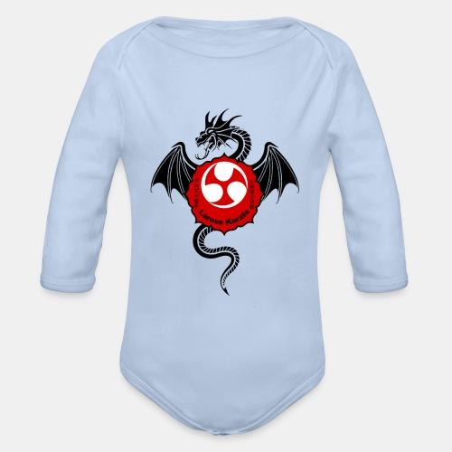 Dragon (B) - Larose Karate - Design Contest 2017 - Organic Long Sleeve Baby Bodysuit