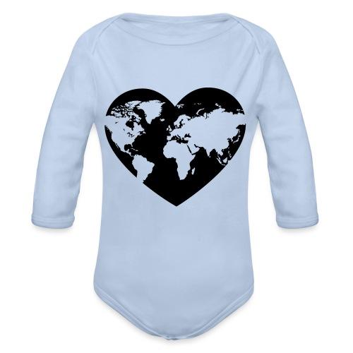 Earth Love - Organic Long Sleeve Baby Bodysuit