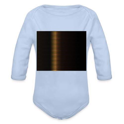 Gold Color Best Merch ExtremeRapp - Organic Long Sleeve Baby Bodysuit