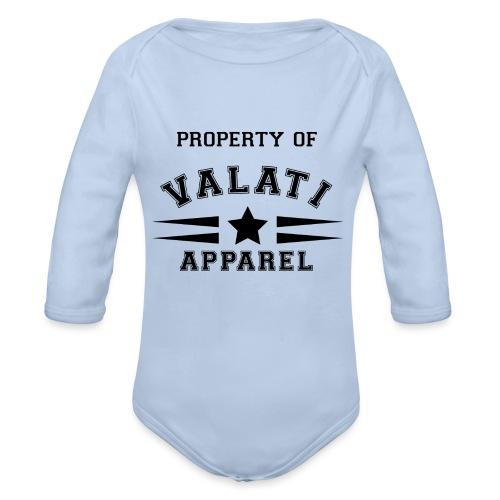 Property Of - Organic Long Sleeve Baby Bodysuit