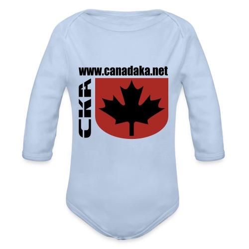 CKA Back 2 - Organic Long Sleeve Baby Bodysuit