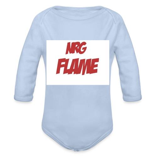 Flame For KIds - Organic Long Sleeve Baby Bodysuit