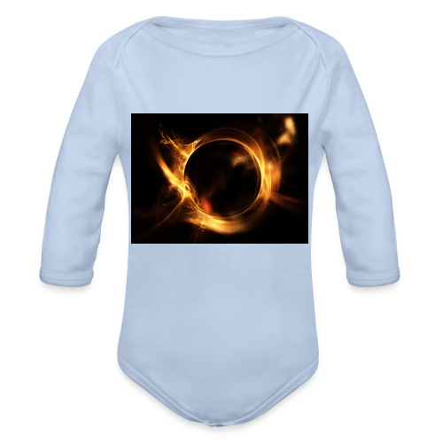 Fire Extreme 01 Merch - Organic Long Sleeve Baby Bodysuit