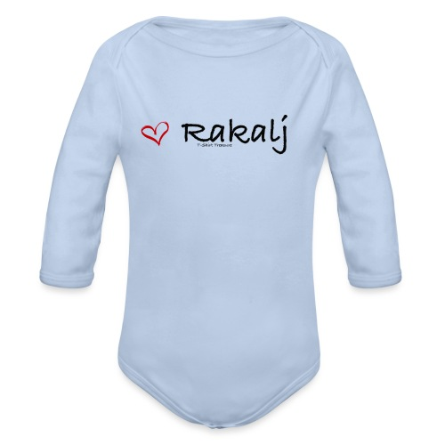 I love Rakalj - Organic Long Sleeve Baby Bodysuit