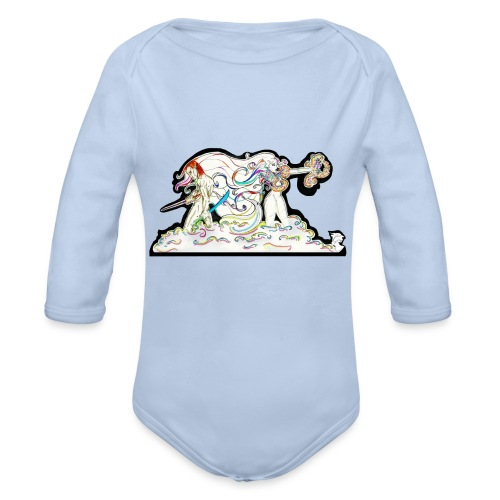 MD At Your Side - Organic Long Sleeve Baby Bodysuit