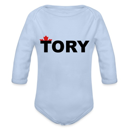 Tory - Organic Long Sleeve Baby Bodysuit