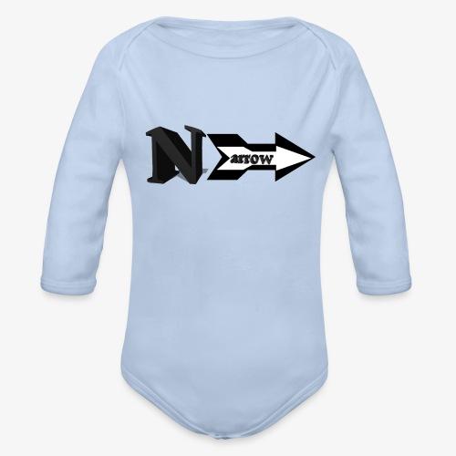 Narrow - Organic Long Sleeve Baby Bodysuit
