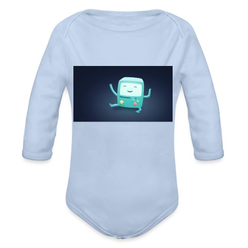 Cool Apparel - Organic Long Sleeve Baby Bodysuit